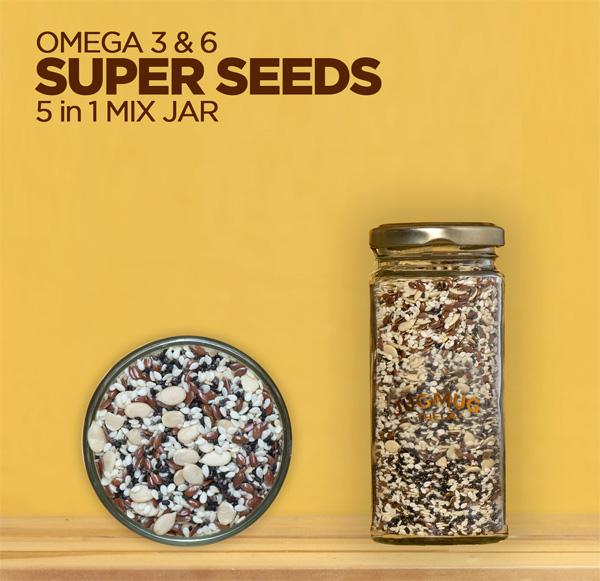 Omega-3-6-Seeds-5-in-1-mix-seeds-jar-Jugmug-Thela