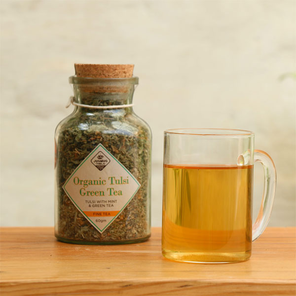 Tulsi-Green-Tea-Immunity-Boost-tea-Jugmug-Thela