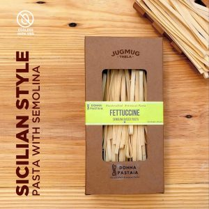 Sicilian Style pasta with Semolina Donna Pastaia for Jugmug Thela