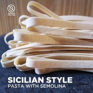 Sicilian-Style-pasta-with-Semolina-Fettuccine-Pasta