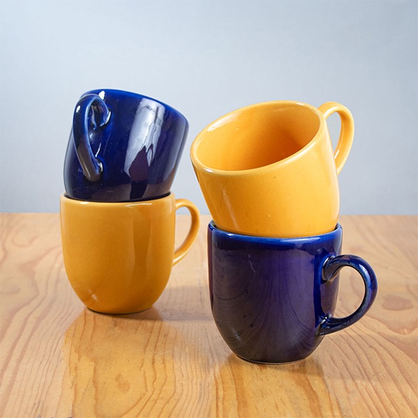 ceramic-cups-set-yellow-and-blue-Jugmug-Thela